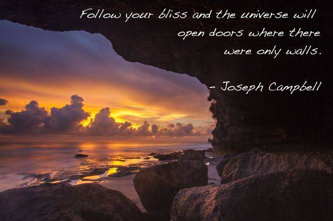Bali Joseph Campbell Quote
