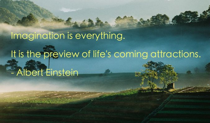 Early Sunrays Einstein Quote